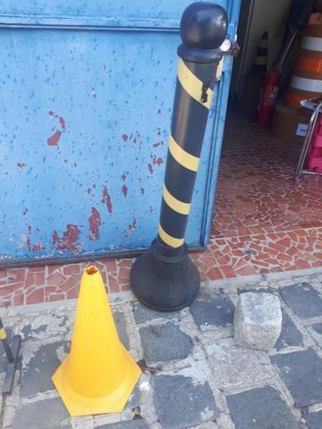 Cones a r$10.00Material para segurança contenção de pessoas para estabelecimentos - Foto 4
