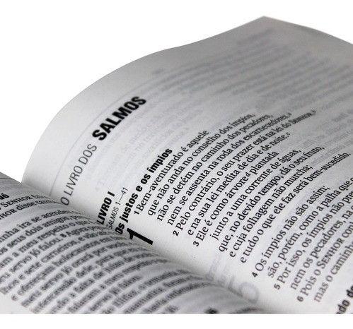 Bíblia Sagrada Letra Grande Nova Almeida Atualizada Barata - Foto 2
