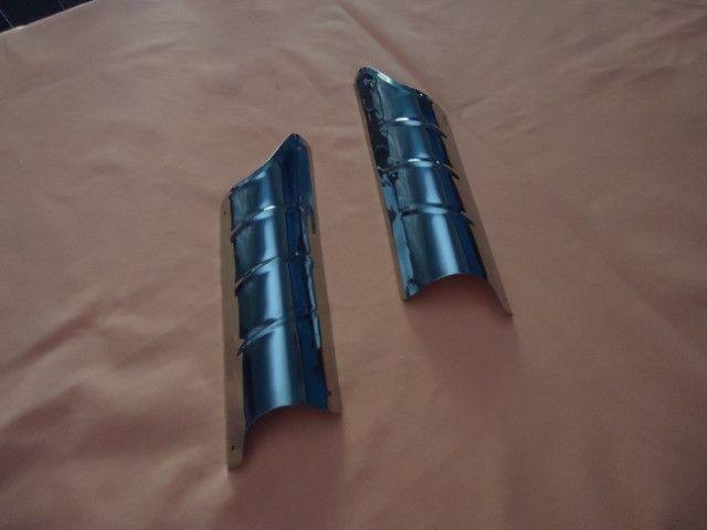 Acessório bate pé de coluna do fusca ( inox ) - Foto 2