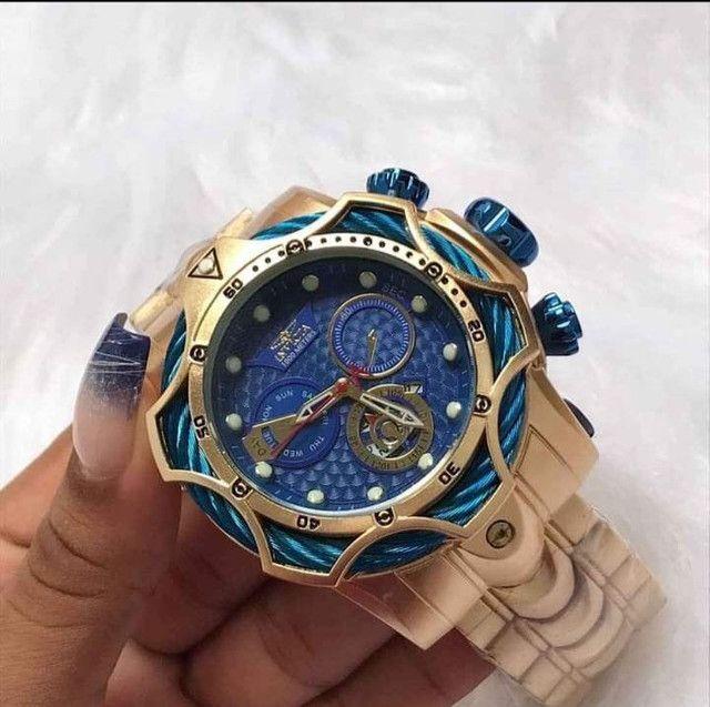 Seu relógio em suas mãos no mesmo dia. Entrega totalmente grátis