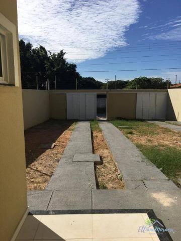 Casa à venda, 90 m² por R$ 260.000,00 - Urucunema - Eusébio/CE - Foto 3