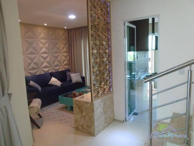 Casa à venda, 137 m² por R$ 480.000,00 - Amador - Eusébio/CE - Foto 10