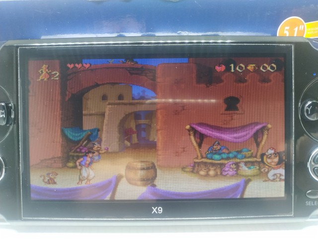 Vídeo game portátil com mil jogos  - Foto 4