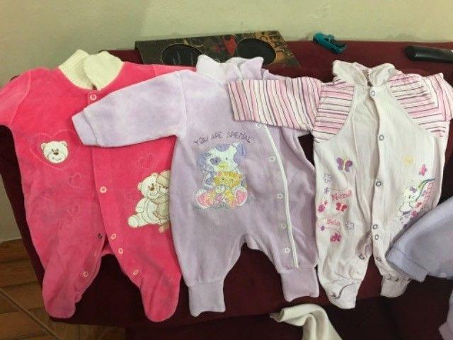 Roupinhas de bebê menina de 0 a 6  - Foto 2