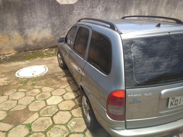 Vendo ou troco Corsa wagon completo 1.6 1998 - Foto 4