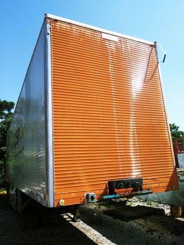 Carreta Baú Rodofort 2 Eixos 12,80x2,60x3,285 Sem Pneus Ano 2009 - Foto 7
