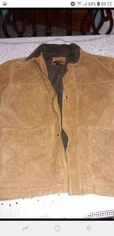 Vendo jaqueta de couro original  - Foto 2