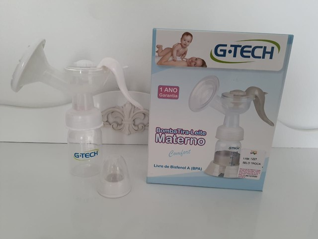Bomba extratora de leite materno manual G-TECH