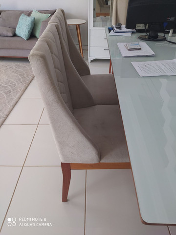 Cadeiras para mesa de jantar estilo poltornas - Foto 3