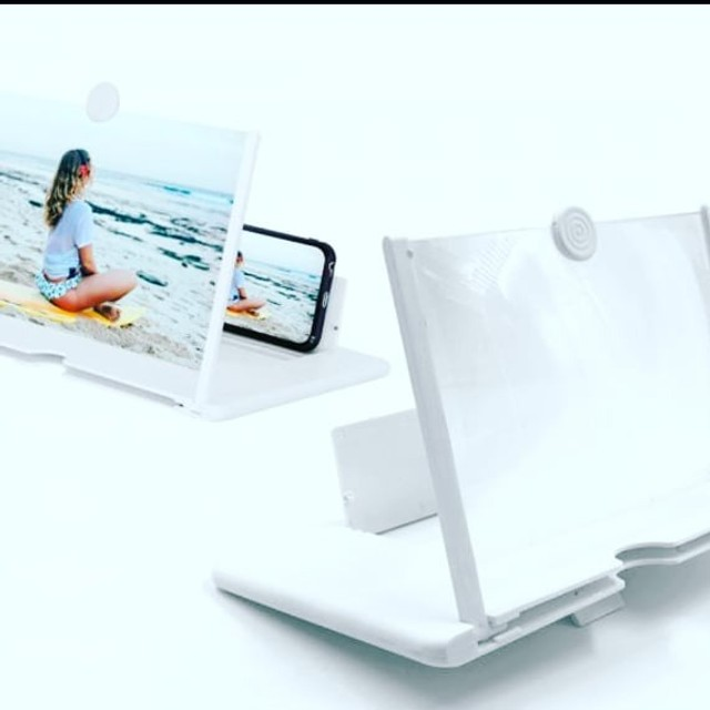 Lente Amplificadora De Tela Para Smartphone Lupa - Foto 5