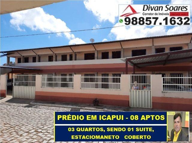 Vendo Prédio c/ 8 apartamentos, todos Alugados em Icapui  - Foto 4