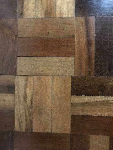 Assoalho de madeira taco