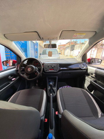 Vw up! High 2015 123 km .manual e chave reserva  - Foto 2