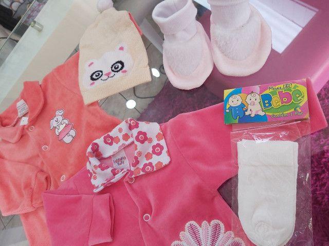 Kit bebê menina - Foto 4