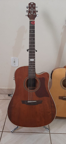 Violão Folk Strinberg Black Series Guitars