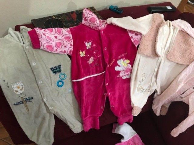 Roupinhas de bebê menina de 0 a 6  - Foto 5