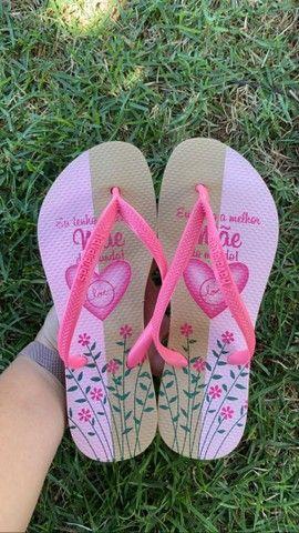 Sandálias havaianas - homenagem dia das mães - Foto 3