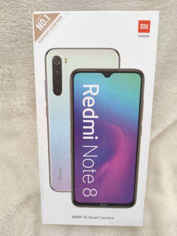 Xiaomi em casa! REDMI Note 8 Novo LACRADO! GARANTIA e entrega