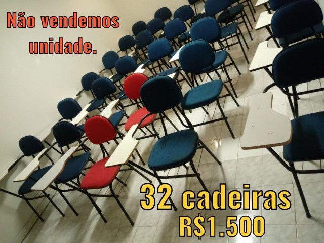 Cadeiras e Lousas Brancas Escolares - Foto 2
