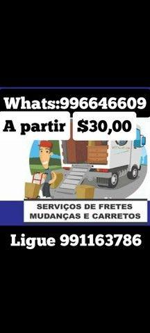 Carreto e frente R$ 30,00 Bauru sp - Foto 5