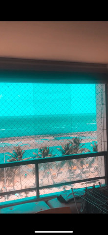 Passeio com cachorro pela beira-mar