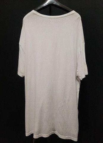 Camiseta de malha branca, Ralph Lauren - 2XL.<br><br> - Foto 2