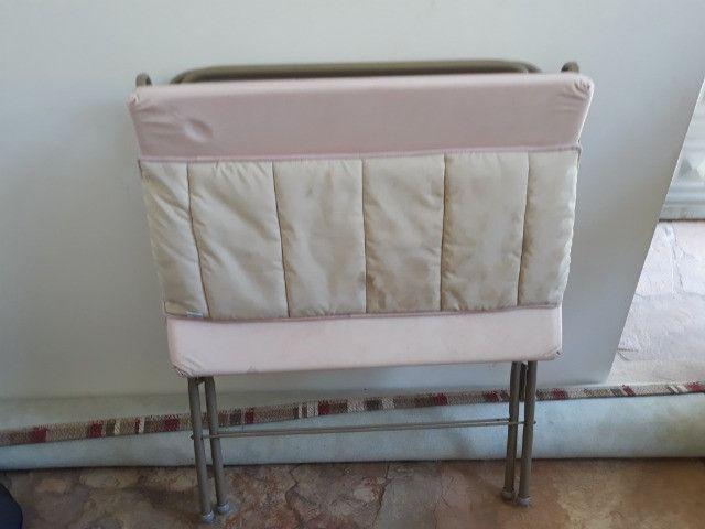 Trocador infantil rosa galzerano - Foto 3