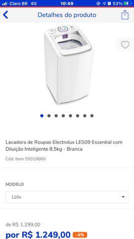 Máquinas de lavar com preço ótimo Casas Bahia