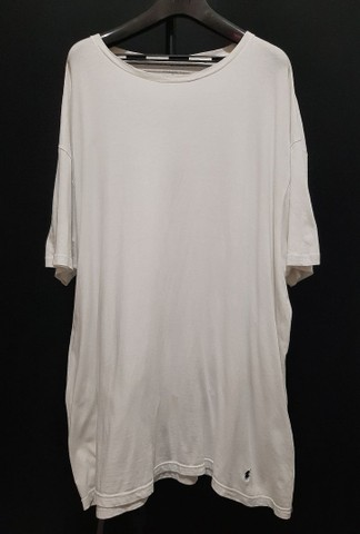 Camiseta de malha branca, Ralph Lauren - 2XL.<br><br>