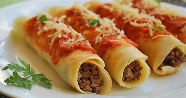 Panquecas, lasanha e macarronada - Foto 2