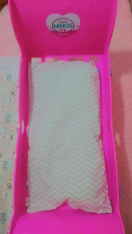 Berço de boneca infantil coleção NINOS beicinho  - Foto 3