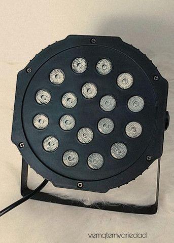 Canhão de luz 18 led  - Foto 2