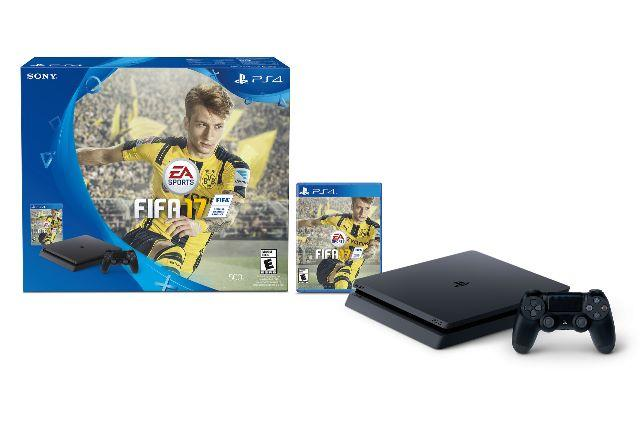 Console Playstation 4 Ps4 Slim Fifa 2017 - Lacrado