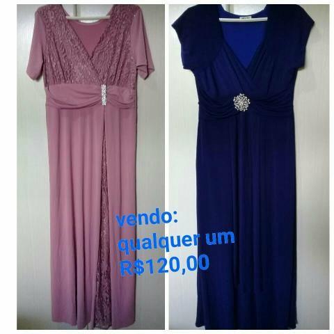 Vende-se dois vestido de malhar por R$ 120