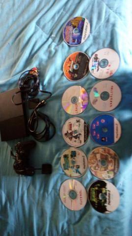 Play Station 2 +alguns jogos