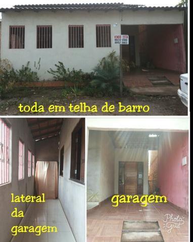Casa 75.000 a vista ou parcelada/ Bairro Alvorada a 900m do Rio Tapajos Shoping
