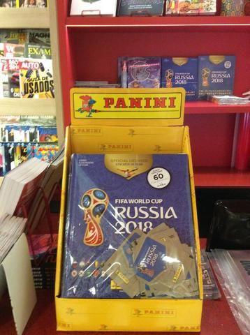 Kit atualização ou Kit álbum capa dura + figurinhas Russia 2018