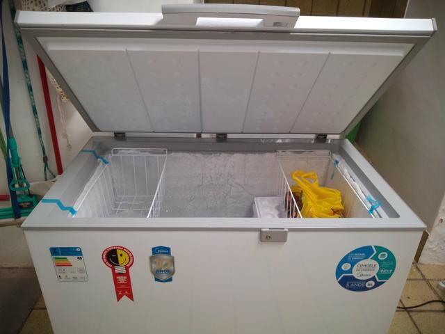Vendo freezer MIDEA 295 litros - Foto 2