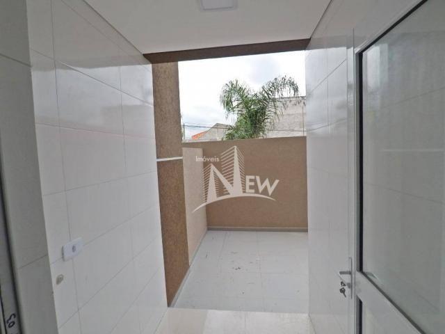 Apartamento térreo com GARDEN, 02 quartos no Parque da Fonte, São José dos Pinhais - Foto 9
