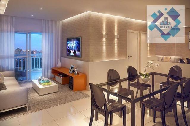 Apartamento com 3 dormitórios à venda, 68 m² - Benfica - Fortaleza/CE - Foto 8