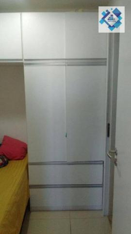 Apartamento com 3 dormitórios à venda, 72 m² por R$ 460.000,00 - Guararapes - Fortaleza/CE - Foto 15