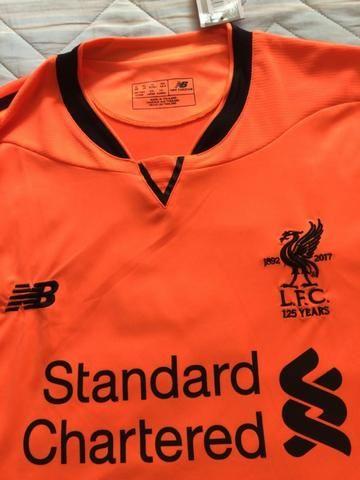 Camisa do Liverpool - Laranja - Original da NB - Tam GG - Nova na etiqueta 289bb4af1fa86
