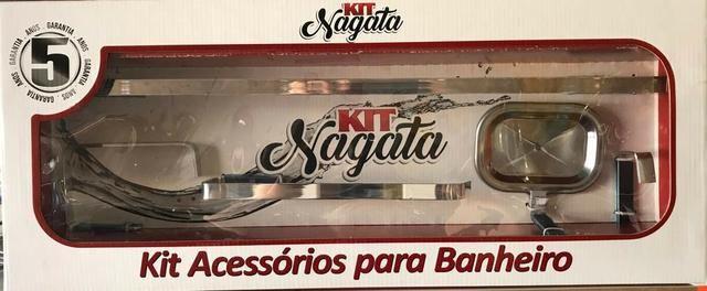 Kit Acessórios para Banheiro Nagata