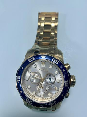 8b6bb2558f9 Relógio invicta pro drive gold - Bijouterias