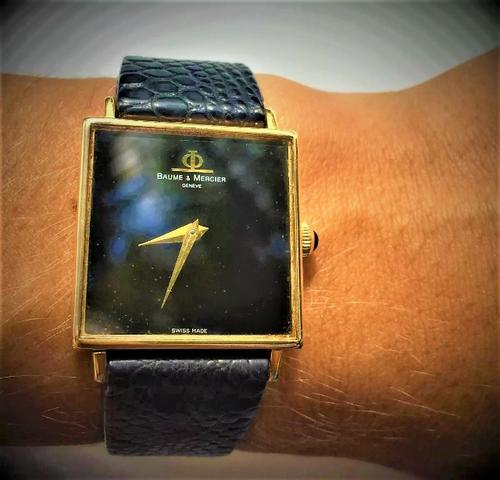9a8ad7ce981 Relógio de Ouro 18Kilates - Baume   Mercier - Bijouterias