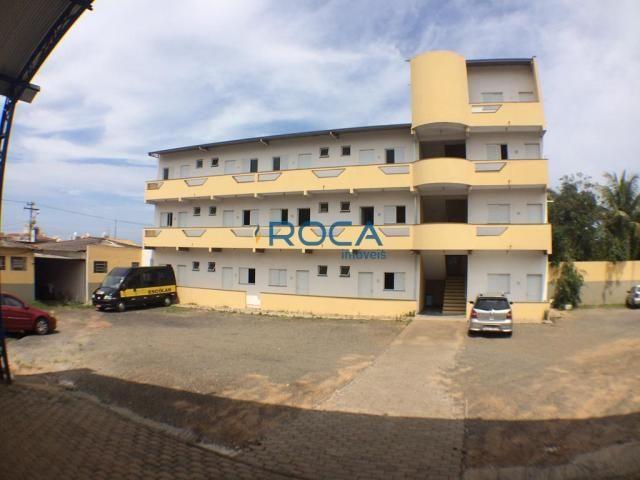Apartamento para alugar com 1 dormitórios em Vila brasília, São carlos cod:14778