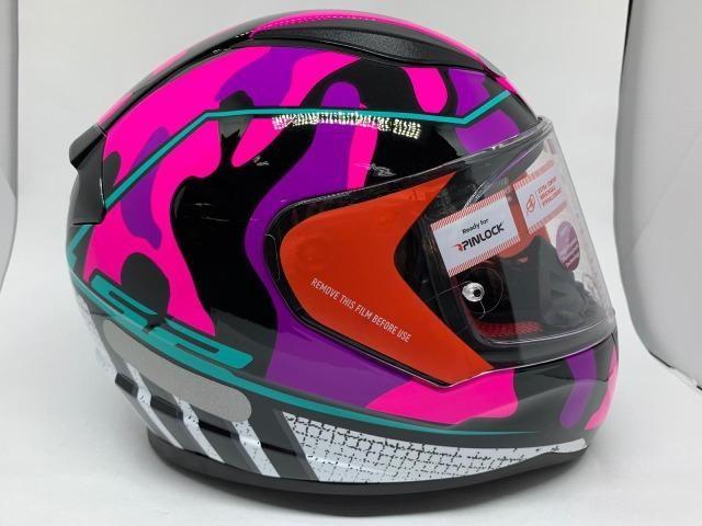 Capacete Ls2 Rapid Bravado Pink FF353