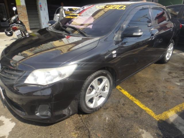 Toyota Corolla Financio ate sem entrada+gnv d quint ger+ completo troca moto ou carro - Foto 16