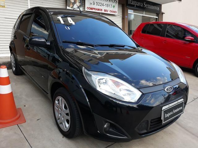Fiesta 2014 SE 1.6 Hatch completo 2019 vistoriado