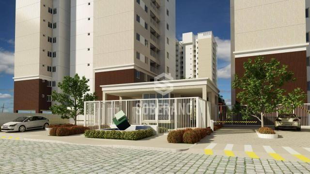 Apartamento com 3 dormitórios à venda, 78 m² por R$ 377.266 - Bancários - João Pessoa/PB - Foto 3